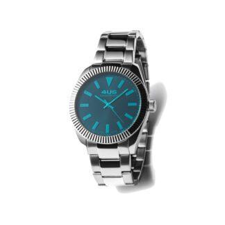 Orologio Donna Solo Tempo 4US - Azzurro - Acciaio - T4LS206