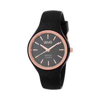 Orologio Donna Liu Jo - Sprint - Acciaio Rosè Silicone Nero - TLJ1143