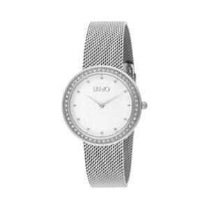 Orologio Liu Jo Luxury - Luxury Round - Silver Brill Acciaio Cristalli - TLJ1193A
