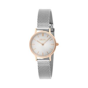 Orologio Liu Jo Luxury Mini Moonlight Silver Gold Rose Acciaio TLJ1206