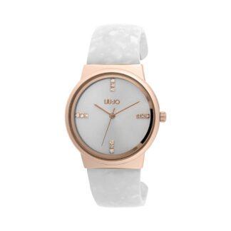 Orologio Liu Jo Luxury Sahara Bianco Gold Rose Acetato TLJ1240