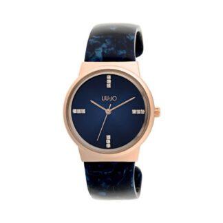 Orologio Liu Jo Luxury Sahara Marmo Blu Rosa Acetato TLJ1244
