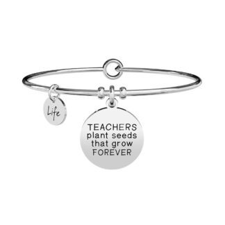 Bracciale Donna Kidult in Acciaio | Teachers Plant Seeds... - Love - 731299