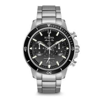 Orologio Buolva Uomo Cronografo Acciaio - Marine Star - 96B272