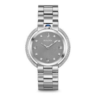 Orologio Buolva Donna Acciaio Diamanti - 96R219
