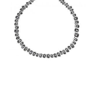 Collana Uno de 50 Peltro Swarowski - The Beast - COL1175GRSMTL0U