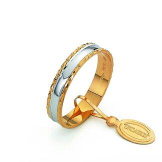 Fedina Classica Unoaerre Oro Bicolore