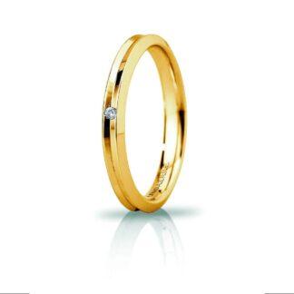 Fede Slim Unoaerre Oro Diamante