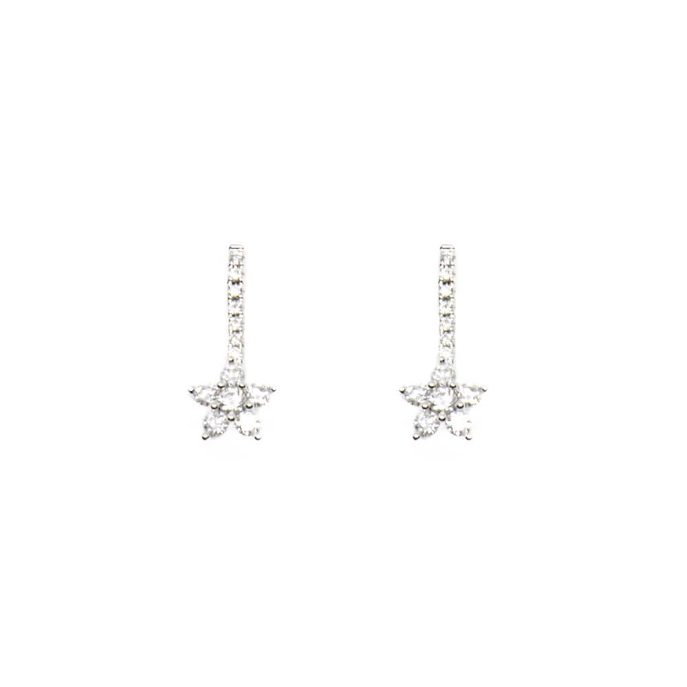 enorme sconto b7b95 95fbb Orecchini pendenti in Oro Bianco con Diamanti - 43218575
