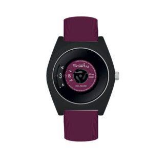 Orologio Smarty Unisex Silicone Termoplastica - Techno Red Wine - SW045D05