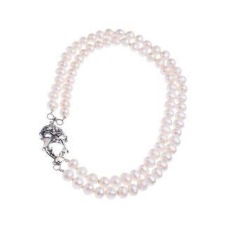 Collana Gerardo Sacco Argento Perle Maschera - 27555B