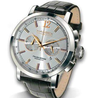 Orologio Acciaio Cronografo Pelle - 9A330USH