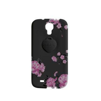 Cover Samsung S4 OPS!Object Nero Fiorato - OPSCOVS4-14