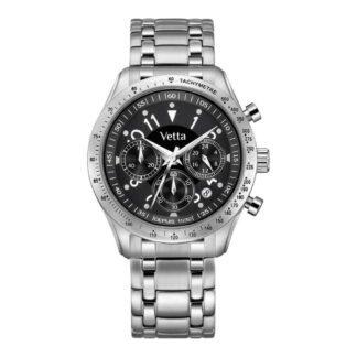 Orologio Vetta Uomo Cronografo Acciaio - Bordeaux - VW0046