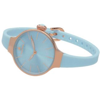 Orologio Hoops Donna in Silicone Turchese - Nouveau Cherie - 2583L-RG03