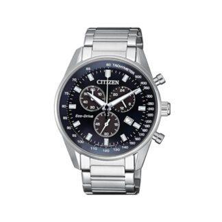 Orologio Citizen Acciaio Uomo Cronografo Eco Drive - Chrono - AT2390-82L