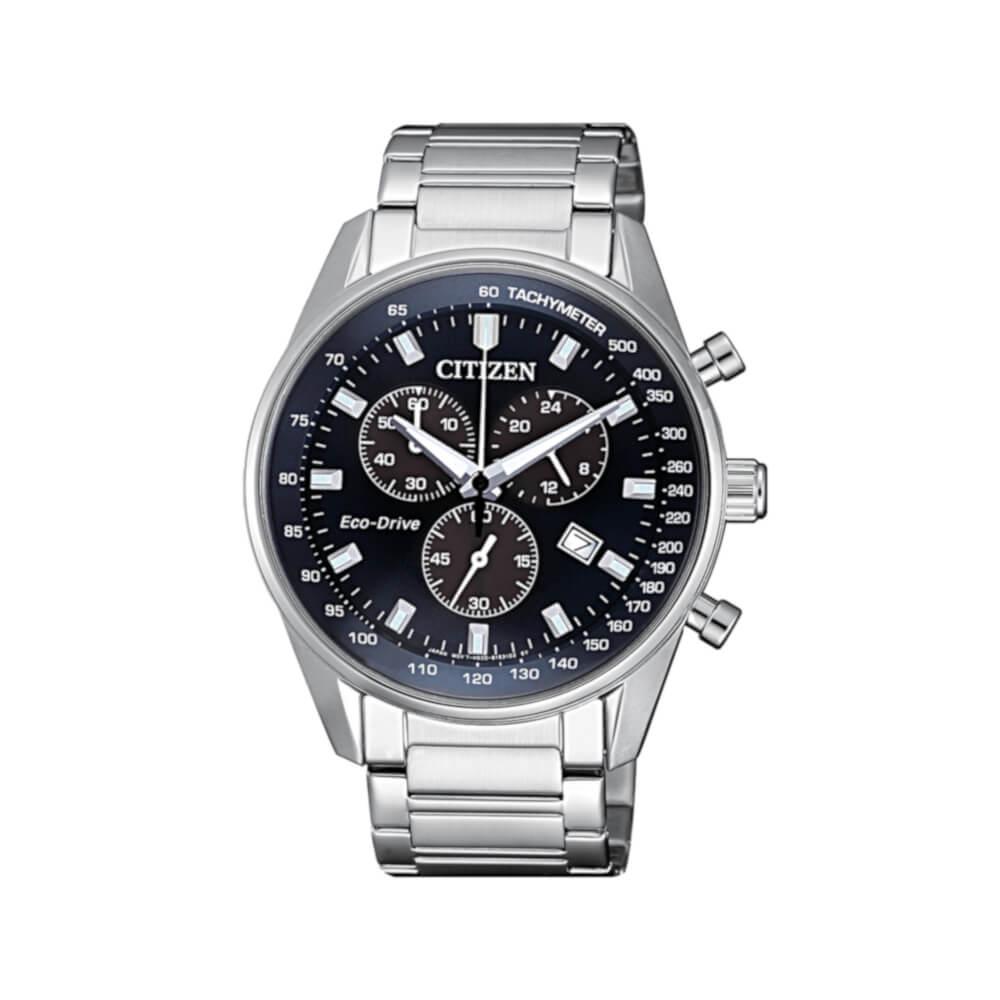 Orologio Citizen Acciaio Uomo Cronografo Eco Drive Chrono At2390 82l Ca4285 50h
