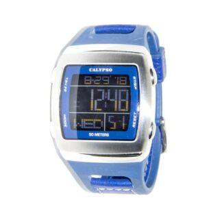 Orologio Calypso Digitale Acciaio Pelle - K5333/5