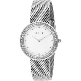 Orologio Liu Jo Donna Solo Tempo Acciaio Cristalli Luxury Round TLJ1193A