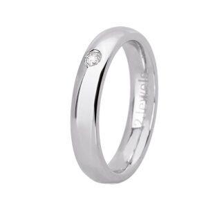 Anello 2Jewels Acciaio Cristallo - Love Rings - 221066