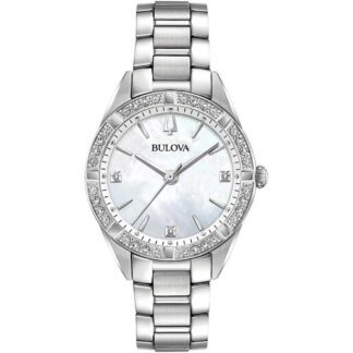 Orologio Bulova Donna Acciaio Diamanti - Diamonds - 96R228
