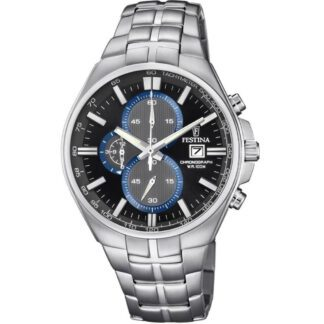Orologio Festina Uomo Cronografo Acciaio Timeless Chronograph F6862/2