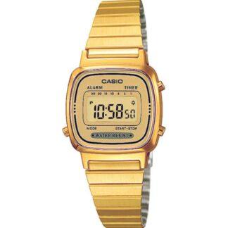 Orologio Casio Donna Acciaio Dorato - LA670WGA-9DF