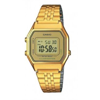 Orologio Casio Unisex Acciaio Dorato - LA680WGA-9DF