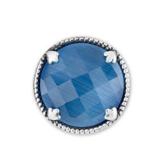 Elemento Singolo Gerardo Sacco Argento Pietra Azzurra - Occhio di Gatto - 27835AZ