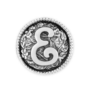 Elemento Singolo Gerardo Sacco Argento Lettera - E - 27838E