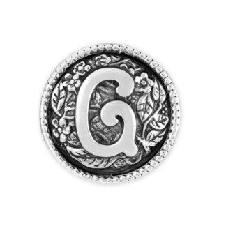 Elemento Singolo Gerardo Sacco Argento Lettera - G- 27838G