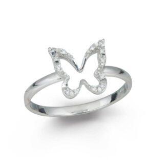 Anello Donna Artlinea Oro Bianco Diamanti - Luce - AD724-4B