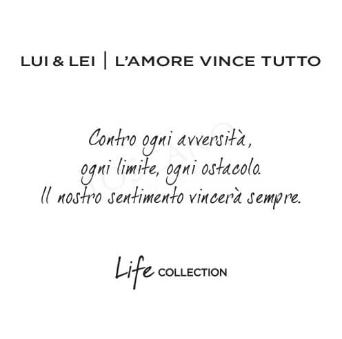 <strong>54€ –  Lui&Lei | L'amore Vince Tutto</strong> </br> Kidult Free Time