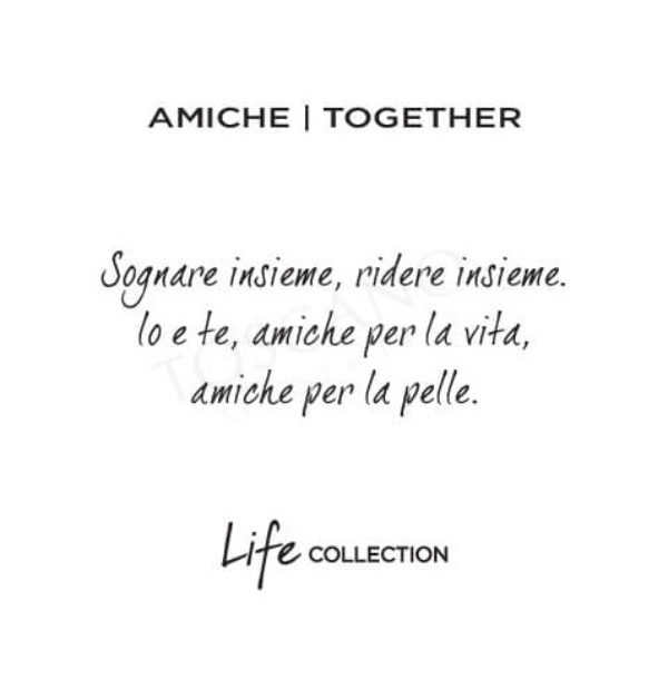 Bracciale Love Amiche|Together Kidult