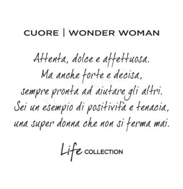 Bracciale Kidult Wonder Woman Love