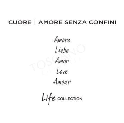 Bracciale Kidult Cuore | Amore Senza Confini - Love