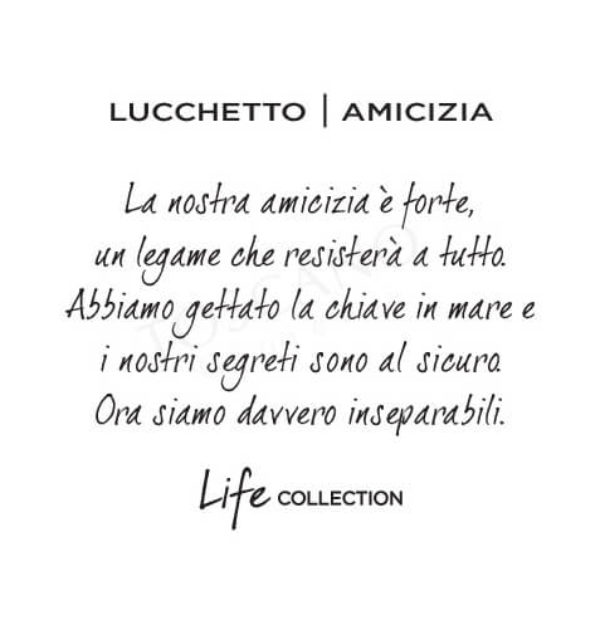 <strong>25€ – Lucchetto | Amicizia </strong> </br> Kidult Free Time