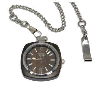 Orologio da Tasca Green Time Solo Tempo Legno - ZW048E