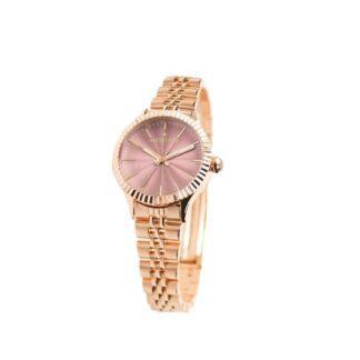 Orologio Hoops Donna Solo Tempo Acciaio Rosato - Luxury Gold - 2560LG