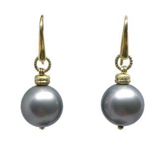 Orecchini perle pendenti - Via Condotti - S022999B-1