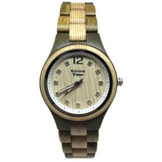 Orologio Green Time Solo Tempo Legno Swarovski® - ZW099D