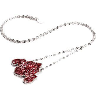 Collana 4US Ottone Zirconi Rossi - Red Passion - 4UCL1237W