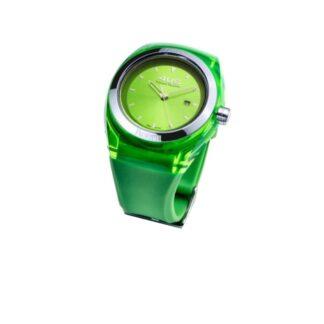 Orologio 4US Solo Tempo Acciaio Silicone Crystal Green Pear - T4CY122