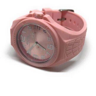 Orologio 4US Solo Tempo Silicone Rosa - T4RB092