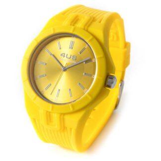 Orologio 4US Solo Tempo Silicone Giallo - T4RB174