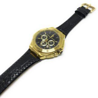 Orologio Cesare Paciotti Cronografo Acciaio Dorato Pelle - TSCR105