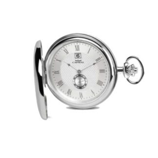 Orologio Tasca Capital Solo Tempo Acciaio - Tasca - TX111*CZ