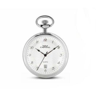 Orologio Tasca Capital Solo Tempo Acciaio - Tasca - TX200*NI