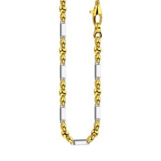 Collana Zancan Oro Giallo Oro Bianco 18kt - Eternity Gold - EC660GB