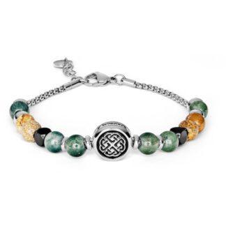 Bracciale Brosway Acciaio Componibile Beads Nodo Celtico - Très Jolie - BTJNS84